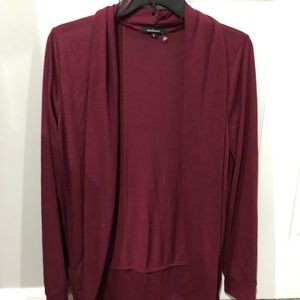 2 FOR $8 - Burgundy Ambiance Cardigan NEVER WORN
